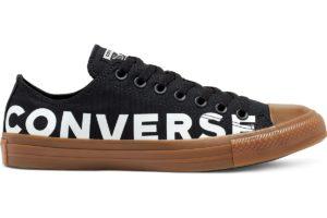 converse-all star ox-womens-black-166233C-black-trainers-womens