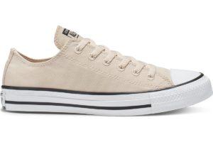 converse-all star ox-womens-beige-166142C-beige-trainers-womens