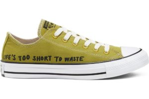 converse-all star ox-womens-green-166373C-green-trainers-womens