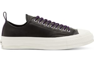 converse-all star ox-womens-black-166134C-black-trainers-womens
