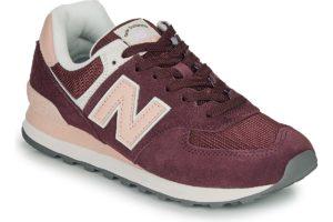new balance-574-womens-red-wl574lda-red-trainers-womens