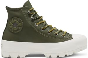converse-all star high-womens-green-566154C-green-trainers-womens