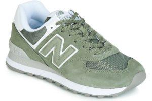new balance-574-womens-green-wl574esa-green-trainers-womens