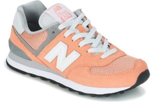 new balance-574-womens-orange-wl574cb-orange-trainers-womens
