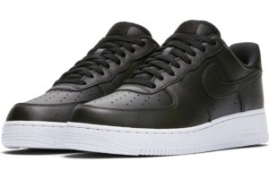 nike-air force 1-mens-black-cj0952-001-black-trainers-mens