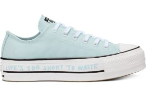 converse-all star ox-womens-blue-566230C-blue-trainers-womens