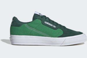 adidas-continental vulcs-mens-green-EF3539-green-trainers-mens