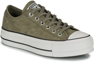 converse-all star ox-womens-green-566569c-green-trainers-womens