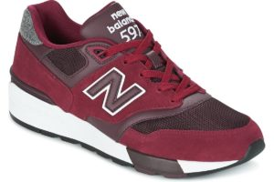 new balance-597-mens-red-ml597nec-red-trainers-mens