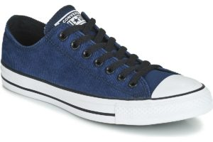 converse-all star ox-mens-blue-163395c-blue-trainers-mens