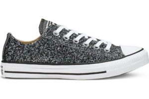 converse-all star ox-womens-silver-566271C-silver-trainers-womens