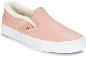 vans-slip-on s (trainers) in-womens-pink-a38f7qtr-pink-trainers-womens