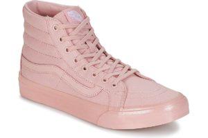 vans-sk8-hi slim s (high-top trainers) in-womens-pink-32r2of7-pink-trainers-womens