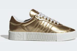 adidas-sambaroses-womens-gold-FV4319-gold-trainers-womens