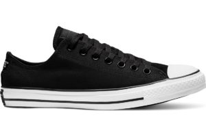 converse-all star ox-womens-black-166240C-black-trainers-womens