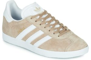 adidas-gazelle s (trainers) in beige-womens-beige-ee5539-beige-trainers-womens