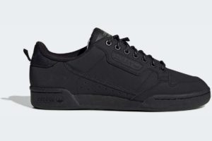 adidas-continental 80s-mens-black-FV4631-black-trainers-mens