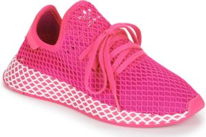 adidas-deerupt runner s (trainers) in-womens-pink-cg6090-pink-trainers-womens