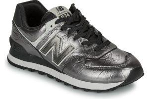 new balance-574 s (trainers) in-womens-black-wl574wnf-black-trainers-womens