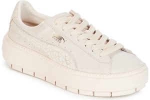 puma-platform trace animal.w s (trainers) in-womens-white-367814-02-white-trainers-womens