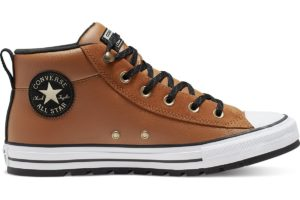 converse-all star mid-womens-brown-166073C-brown-trainers-womens