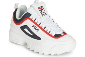 fila-disruptor cb lows (trainers) in-mens-white-1010575-01m-white-trainers-mens