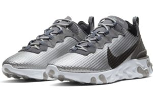 nike-react element-mens-silver-ci3835-001-silver-trainers-mens