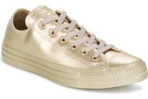 converse-all star ox-womens-gold-157664c-gold-trainers-womens