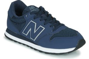 new balance-500 s (trainers) in-womens-blue-gm500trz-blue-trainers-womens
