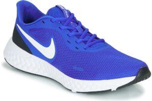 nike-revolution 5 sports trainers () in-mens-blue-bq3204-401-blue-trainers-mens