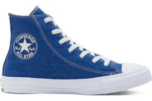 converse-all star high-womens-blue-166741C-blue-trainers-womens