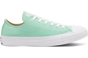 converse-all star ox-womens-green-166745C-green-trainers-womens