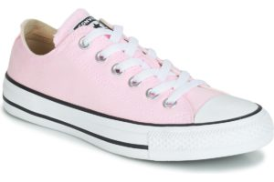 converse-all star ox-womens-pink-163358c-pink-trainers-womens