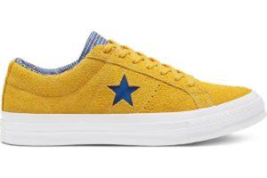 converse-one star-womens-yellow-166848C-yellow-trainers-womens