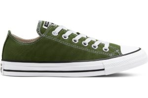 converse-all star ox-womens-green-166711C-green-trainers-womens