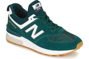 new balance-574-mens-green-ms574fcj-green-trainers-mens