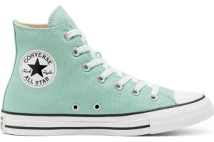 converse-all star high-womens-green-166707C-green-trainers-womens
