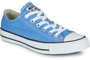 converse-all star ox-womens-blue-166709c-blue-trainers-womens