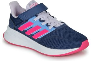 adidas-runfalcon c s (trainers) in-womens-blue-eg6148-blue-trainers-womens