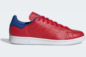 adidas-stan smiths-mens-red-FV3266-red-trainers-mens
