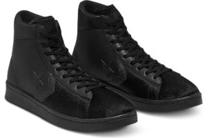 converse-pro leather-womens-black-165751C-black-trainers-womens