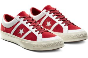 converse-one star-womens-red-167135C-red-trainers-womens