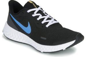nike-revolution 5 sports trainers () in-mens-black-bq3204-004-black-trainers-mens