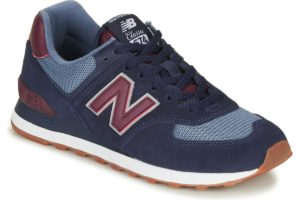 new balance-574 s (trainers) in-womens-blue-ml574spo-blue-trainers-womens