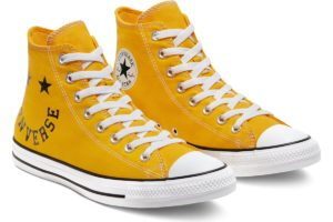 converse-all star high-womens-yellow-167070C-yellow-trainers-womens