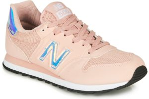 new balance-500 s (trainers) in-womens-pink-gw500hgy-pink-trainers-womens