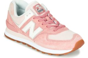 new balance-574 s (trainers) in-womens-pink-wl574saz-pink-trainers-womens