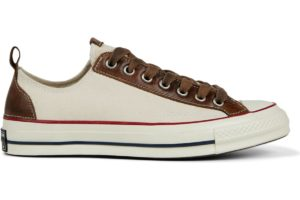 converse-all star ox-womens-beige-167409C-beige-trainers-womens