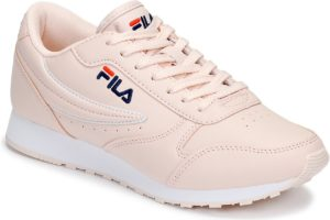 fila-orbit low s (trainers) in-womens-pink-1010308-71y-pink-trainers-womens