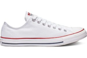 converse-all star ox-womens-white-167494C-white-trainers-womens